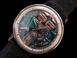 18k White Gold Swiss Accutron Spaceview